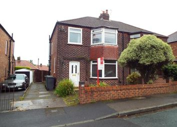 Thumbnail 3 bed semi-detached house for sale in Ridge Crescent, Whitefield, Manchester, Greater Manchester