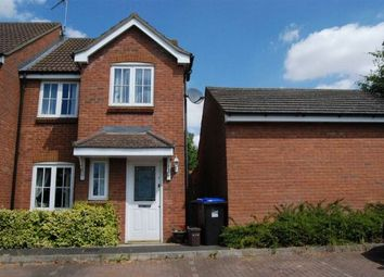 Thumbnail 3 bed end terrace house to rent in Clevedon Court, Middlemore, Daventry