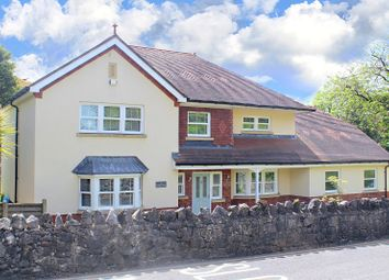 Thumbnail 4 bed detached house for sale in Caswell Road, Caswell Bay, Swansea