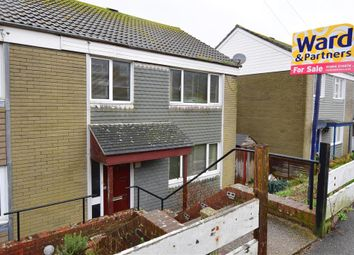 Thumbnail 3 bed semi-detached house for sale in Kimberley Close, Dover, Kent