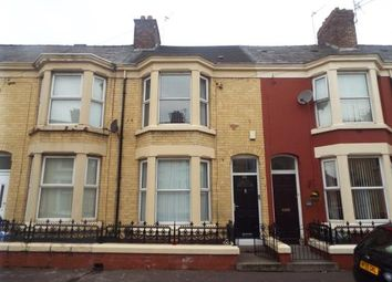 Thumbnail 4 bed terraced house for sale in Adelaide Road, Liverpool, Merseyside, England