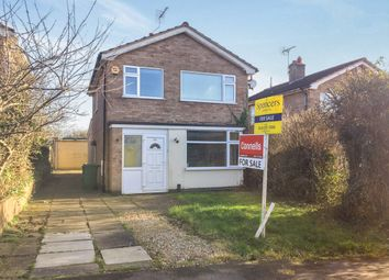 Thumbnail 4 bedroom detached house for sale in Windrush Drive, Oadby, Leicester