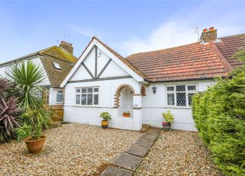 Thumbnail 3 bed semi-detached bungalow for sale in Grinstead Lane, Lancing, West Sussex