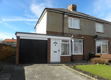 Thumbnail 2 bed semi-detached house to rent in Beresford Road, Seaton Sluice, Whitley Bay