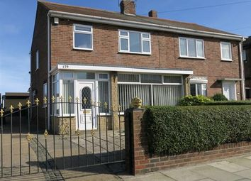 Thumbnail 3 bedroom semi-detached house for sale in Bamburgh Avenue, South Shields