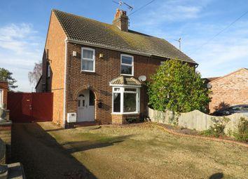 Thumbnail 3 bed semi-detached house for sale in Peterborough Road, Farcet, Peterborough