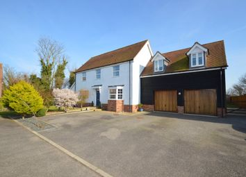 Thumbnail 5 bedroom detached house for sale in Ladbrook Close, Elmsett, Ipswich