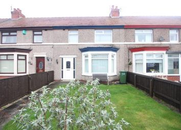 Thumbnail 3 bed terraced house for sale in Northfleet Avenue, Fleetwood