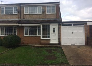 Thumbnail 3 bed semi-detached house to rent in Webster Close, Kimberworth, Rotherham