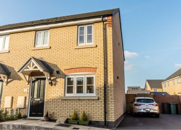 Thumbnail 3 bed semi-detached house for sale in Auster Road, Peterborough