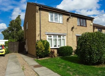 Thumbnail 2 bed semi-detached house for sale in Birch Road, New Balderton, Newark