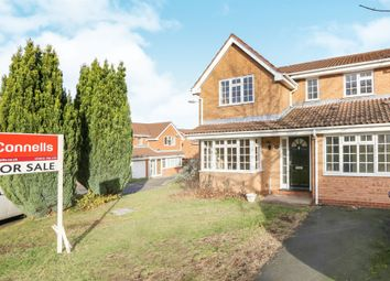 Thumbnail 4 bed detached house for sale in Byfleet Close, Sedgemoor Park, Bilston