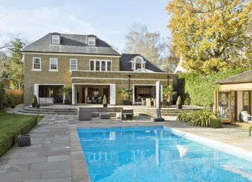 Thumbnail 6 bed detached house for sale in The Quillot, Burwood Park, Hersham, Walton-On-Thames