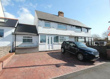 Thumbnail 3 bed semi-detached house for sale in Meggitt Road, Barry