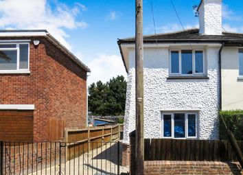 Thumbnail 3 bedroom semi-detached house for sale in Hill Crest Road, Parkstone, Poole