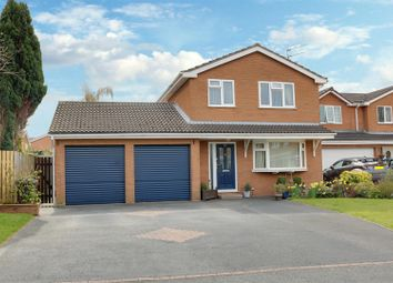 Thumbnail 4 bed detached house for sale in Derwent Close, Alsager, Stoke-On-Trent