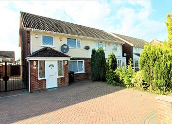 Thumbnail 3 bed semi-detached house for sale in Rushetts Road, Crawley, West Sussex.