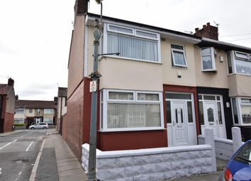 Thumbnail 3 bed end terrace house for sale in Gorton Road, Old Swan, Liverpool