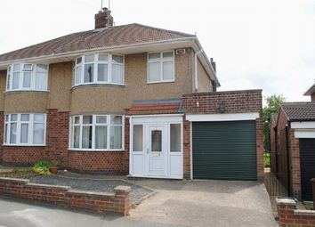 Thumbnail 3 bed semi-detached house for sale in Thornby Drive, Kingsthorpe Village, Northampton