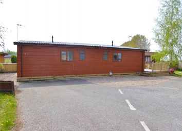 Thumbnail 4 bed mobile/park home for sale in Hull Road, Wilberfoss, York
