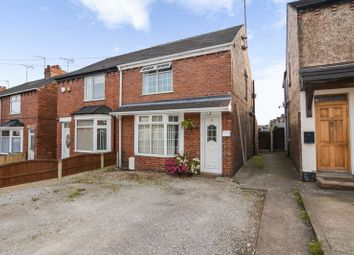 Thumbnail 2 bed semi-detached house for sale in Stainforth Street, Mansfield Woodhouse, Mansfield