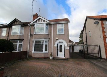 Thumbnail 3 bed semi-detached house for sale in Moseley Avenue, Coventry