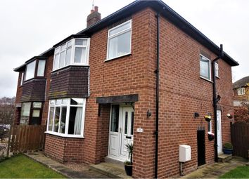 Thumbnail 3 bed semi-detached house for sale in Moseley Wood Avenue, Leeds