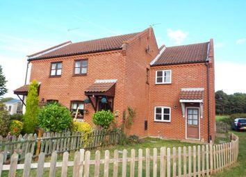 Thumbnail 2 bedroom end terrace house for sale in Little Snoring, Fakenham, Norfolk