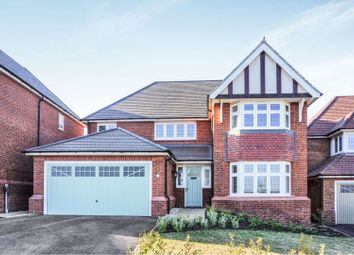Thumbnail 4 bed detached house for sale in Audlem Road, Stafford