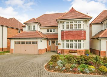 Thumbnail 4 bed detached house for sale in The Furrows, Crawley Down, West Sussex