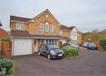 Thumbnail 4 bed detached house for sale in Manchester Close, Stevenage