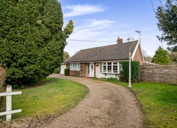 Thumbnail 2 bed detached bungalow for sale in Trunch Hill, Denton, Harleston