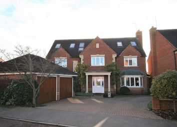 Thumbnail 7 bed detached house for sale in Burham Close, Wootton, Northampton