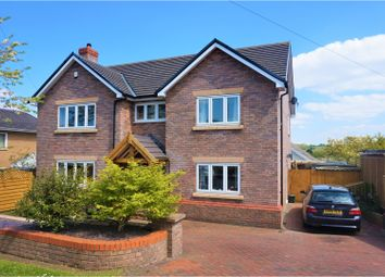 Thumbnail 4 bed detached house for sale in Babell Road, Holywell