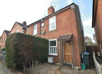 Thumbnail 2 bed semi-detached house for sale in Rusham Road, Egham, Surrey
