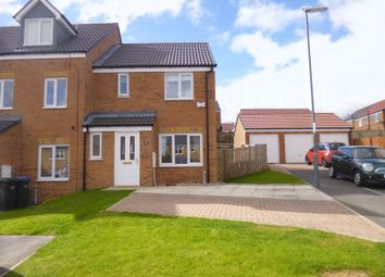 Thumbnail 3 bedroom property for sale in Hutchinson Close, Coundon, Bishop Auckland