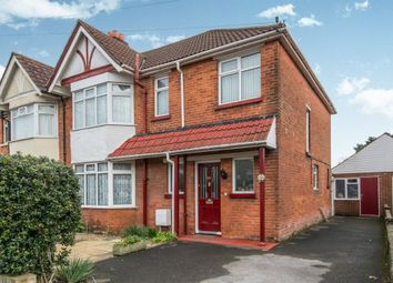 Thumbnail 3 bedroom semi-detached house for sale in Belmont Road, Southampton