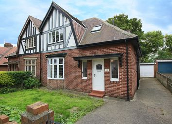 Thumbnail 3 bedroom semi-detached house for sale in Grange Park Avenue, Fulwell, Sunderland