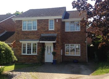 Thumbnail 4 bed detached house for sale in James Grieve Avenue, Locks Heath, Southampton