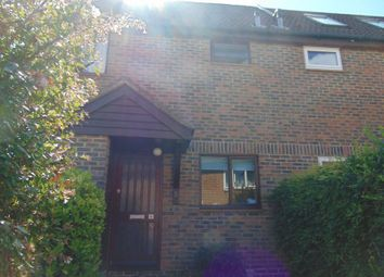 Thumbnail 1 bed end terrace house to rent in Leybourne Close, Pease Pottage, Crawley