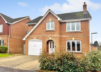 Thumbnail 4 bed detached house for sale in Cavell Way, Knaphill, Woking