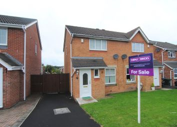 Thumbnail 3 bed semi-detached house for sale in Paradise Close, Chorley