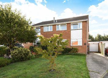 Thumbnail 3 bed semi-detached house for sale in Freemans Close, Billingshurst
