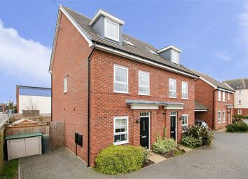 Thumbnail 3 bed semi-detached house for sale in King Stephen Meadows, Old Wolverton, Milton Keynes, Bucks