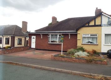 Thumbnail 3 bed bungalow for sale in Lyndhurst Road, Cannock, Staffordshire, Na