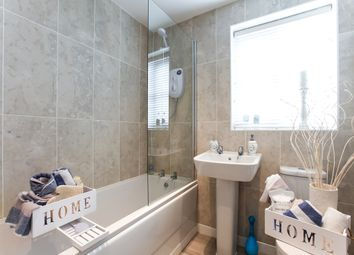 "Thumbnail 4 bed town house for sale in ""The Leicester"" at Brookside, East Leake, Loughborough"