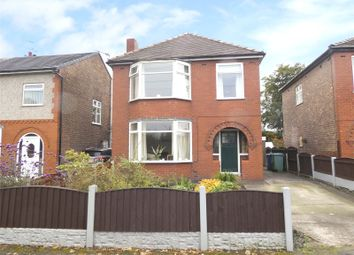 Thumbnail 3 bed detached house for sale in Warrington Road, Culcheth, Warrington