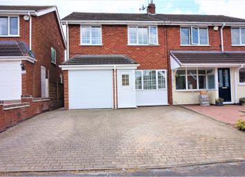 Thumbnail 3 bed semi-detached house for sale in Hawthorne Road, Cheslyn Hay