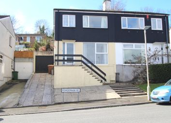 Thumbnail 3 bed semi-detached house for sale in Powderham Road, Plymouth