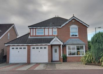 Thumbnail 4 bedroom detached house for sale in Thirlington Close, Windsor Gardens, Newcastle Upon Tyne
